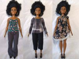 CLOTHES High Quality Handmade Wardrobe Lot for Mattel CURVY