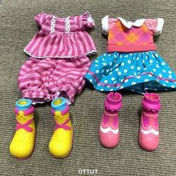3x LALALOOPSY DOLL Fashion Clothing Outfit Clothes Dress Paj