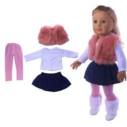4 Pieces American <font><b>Doll</b></font> <font><b>Clothes<