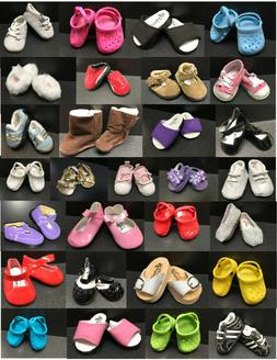40 Styles - 18 inch & 15 Inch Doll Shoes - Fit American Girl