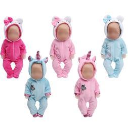 43 cm baby <font><b>dolls</b></font> <font><b>Clothes</b></f