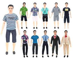XADP 5 Sets Ken Clothes Doll Casual/Career Wear Clothes Jack