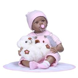 55cm Lovely Toddler Newborn Baby Doll Toys Cloth Body Soft S