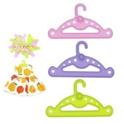 5pcs Hangers doll clothes accessories hanger fit 18 inch dol