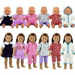 BARWA 6 Sets Dresses Clothing Jumpsuits Clothes Handmade Cos