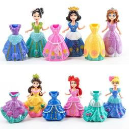 6Pcs Snow White Sophia Mermaid Princess <font><b>Dolls</b></