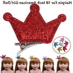 6PCS Sweet Cute Hairpin For 18 Inch American Girls Doll Acce