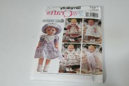 Simplicity 7497 DAISY KINGDOM Doll Clothes Pattern Daisy Dol