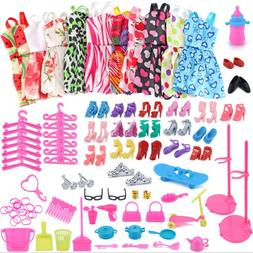 83Pcs/set Bag <font><b>Shoes</b></font> Dress Fashion <font>