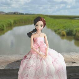 85 Pcs Barbie Doll Clothes Gown Outfits Accessories Girl Gif
