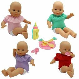 ZITA ELEMENT 9 PCS Baby Alive Doll Clothes &Accessories for