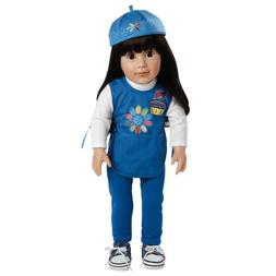 "Adora Play Doll Abigail - Girl Scout Daisy 18"" Doll & Costum"