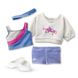 American Girl - 2 in 1 Gymnastics Practice Outfit for Dolls