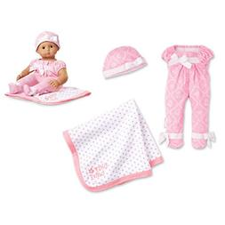 """American Girl Bitty Baby Tiny Toile Set for 15"""" Dolls"""