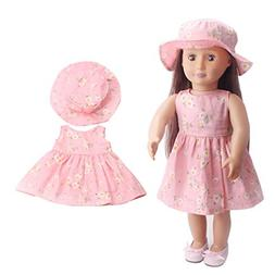 """American girl doll clothes Accessories,2018 Summer 18"""" inch"""