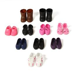 Beverly Hills Doll Collection 10 Pairs Of Shoes Fits 18'' Do