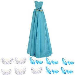 Buytra Fashion Handmade Clothes Party Dresses Gown Outfit wi