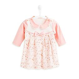 COBROO Girls T-Shirt Doll Collar Baby Girls Basic Pink T-Shi