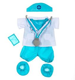 "Doctor Outfit Teddy Bear Clothes Fit 14"" - 18"" Build-a-bear,"