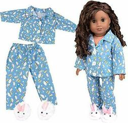 Doll Clothes for American Girl Dolls: 3 Piece Rainy Day Paja