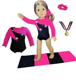 Doll Connections Gymnastics Leotard Outfit Compatible with A