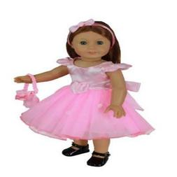 Dress Along Dolly Clothes for American Girl Dolls