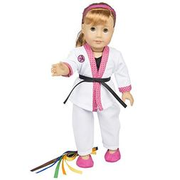 Dress Along Dolly Karate Outfit for American Girl Dolls - Ha
