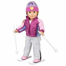 Dress Along Dolly Skiing Doll Clothes for American Girl Doll