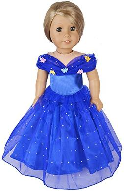 Ebuddy Halloween Costume Set Inspired By Cinderella Doll Clo