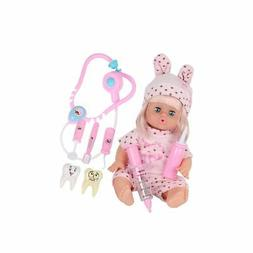 Huang Cheng Toys Set of 6 14-15 Inch Alive Lovely Doll 18-in