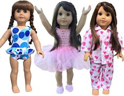 In-Style American Girl Doll Clothes Accessories To Fit 18 In
