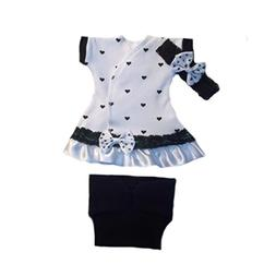 Jacqui's Baby Girls' Loving Hearts Dress, Preemie