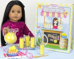 Lemonade Doll Food Play Specialty Serving Set, Includes Doll