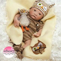Paradise Galleries Hoot! Hoot! Baby Doll That Looks Like a R