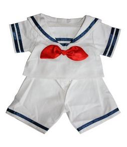 """Sailor Boy w/Hat Outfit Teddy Bear Clothes Fit 14"""" - 18"""" Bui"""