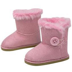 "Stylish 18 Inch Doll Boots. Fits 18"" American Girl Dolls & M"