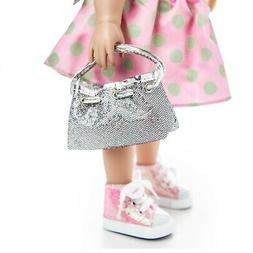 The Queen's Treasures 18 inch Doll Designer Handbag Hand Bag