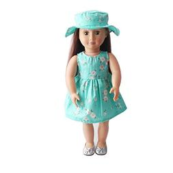 WARMSHOP For American Girl Doll Cloth Set, 2 PC 18 Inch Doll