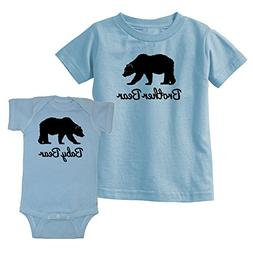 We Match! Brother Bear & Baby Bear Matching Kids T-Shirt & B