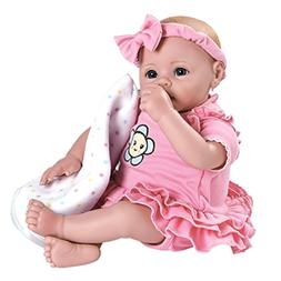 "Adora BabyTime Pink 16"" Weighted Girl Baby Doll"