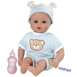 """Adora Beary Blue 13""""  Charisma Dolls, Weighted Vinyl and Clo"""