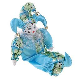 Fityle 12inch Adorable Porcelain Triangle Doll Blessing Eros