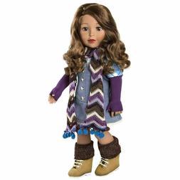 Adora Amazing Girls 18-inch Ava Hispanic Doll Play Fashion D