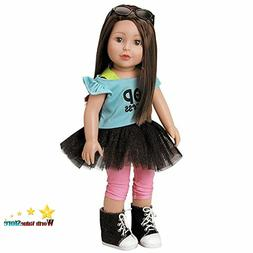 """Adora Amazing Girls 18 Inch Doll, """"Emma""""  Compatible With Mo"""