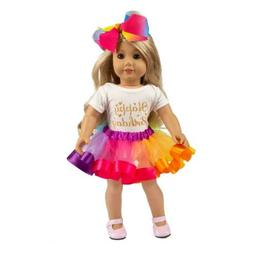 ZITA ELEMENT America Doll Clothes and Accessories for 18 Inc