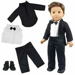 ZITA ELEMENT American 18 Inch Boy Doll Clothes Suit Set and