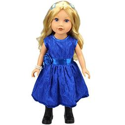 18 inches American Girl Doll Clothes - Woshishei Fashion Han