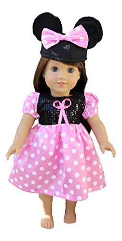 in-Style Compatible with American Girl Doll Clothes Accessor