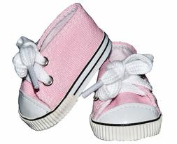 American Doll Pink Tennis Shoes Clothes Compatible 18 inch A