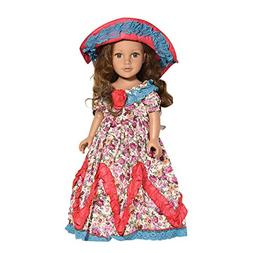 Anyren American Girl Doll Clothes Accessories Set, Retro Par
